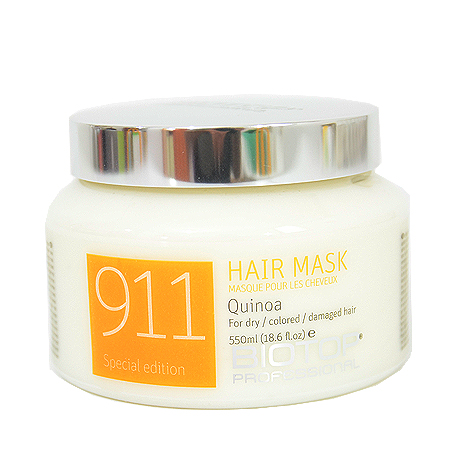 """מסכת קינואה לשיער 911- ביוטופ 500 מ""""ל-0"""