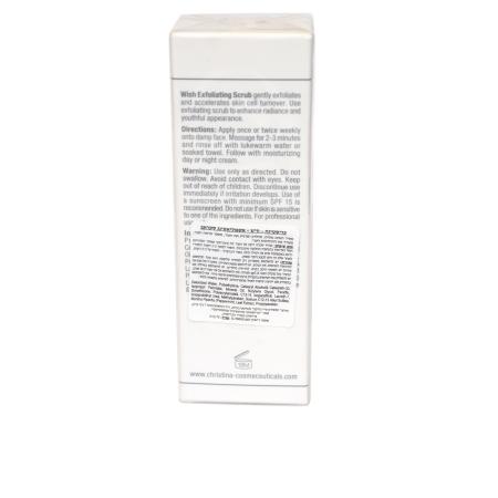 Exfoliating Scrub – כריסטינה וויש - סקראב (פילינג) לפנים מנשיל-2507