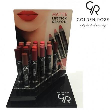 Matte Lipstick Crayon - עפרון שפתון מט-1146