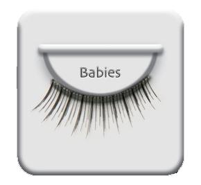 ריסים מלאכותיים Natural Babies-0